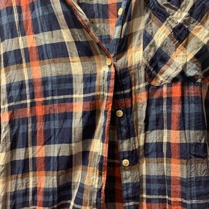 Maurice's Plaid Button-Up